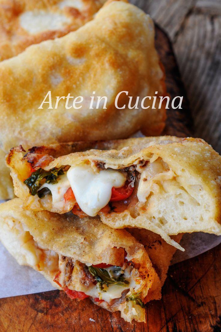 Pitoncini messinesi rosticceria siciliana calzoni fritti   Arte in Cucina