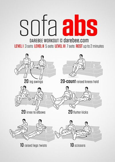 Sofa Abs Workout