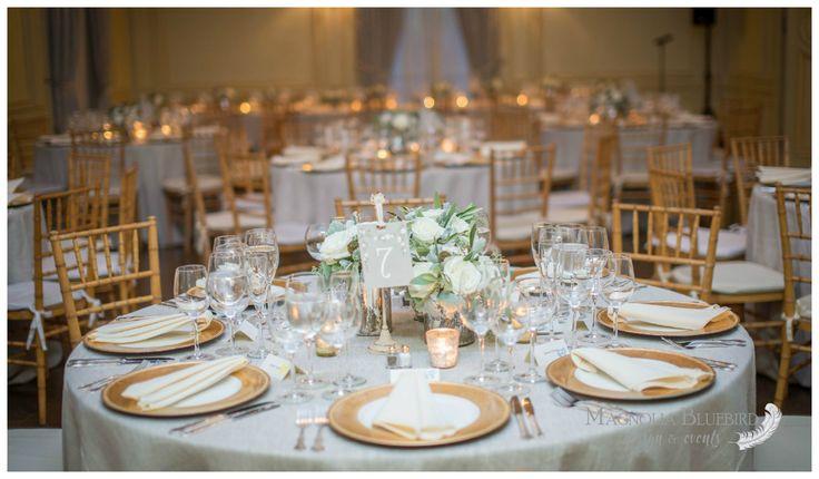 Round Table   Neutrals   Gold   DC Wedding   Magnolia Bluebird   Real Wedding   Meridian House   Washington D.C.