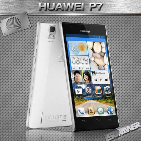 Original New Huawei Ascend P7 Cell Phones Kirin 910T Quad Core Android Smartphone 2GB RAM 16GB ROM 5.0'' 13.0MP Camera Mobile