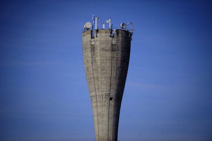 Hydropack b típusú víztorony Kállósemjénben  Forrás: MTI/Czeglédi Zsolt