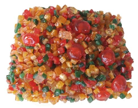 The Paradise mix is perfect for commercial baker who need large quantities of different flavors of candied fruit.  It contains cherries, pineapples, orange peel, lemon peel, & citron.