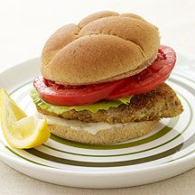 WW Pan-Fried Fish Sandwich: 4 servings; 8 points+ per serving