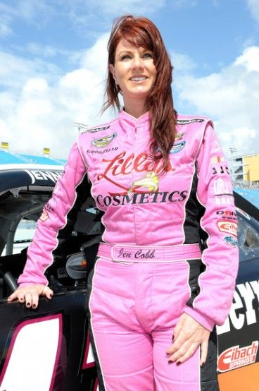 Jennifer Jo Cobb competes in both the Nationwide Series and Camping World Truck Series of NASCAR. She made her Nationwide Series debut in 2004 at the Ford 300 in Homestead
