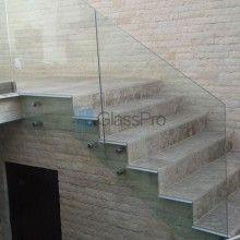Balustrada sticla - Locuinta Privata