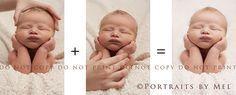 Ich teile dies nur, um zu zeigen, was in diese Art von Posen einfließt. Es war …   – Newborn Essentials