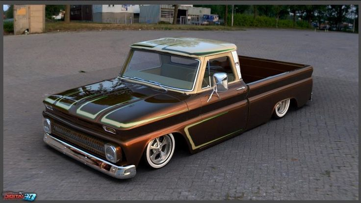 Chevy C10... Color combo, yes!
