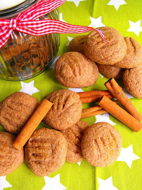 Biscoitos de canela e erva-doce