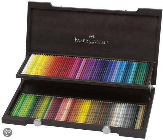 Faber Castell kleurpotlood Polychromos kist � 120 st. Compendium