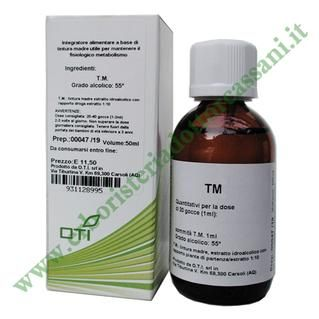 TINTURA MADRE ZENZERO (Zingiber officinalis) 50 ml