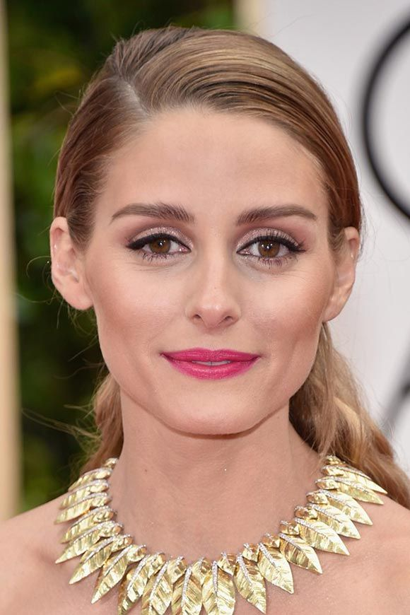 Golden Globes 2016 Celebrity Hairstyles & Makeup: Olivia Palermo #makeup #beauty #hair