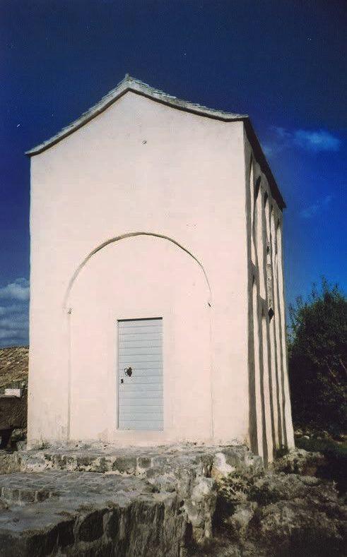 The pre-Romanesque church of Sv. Mihajlo (St. Michael) near Ston, 11th century / Croatia #croatia #preromanesque