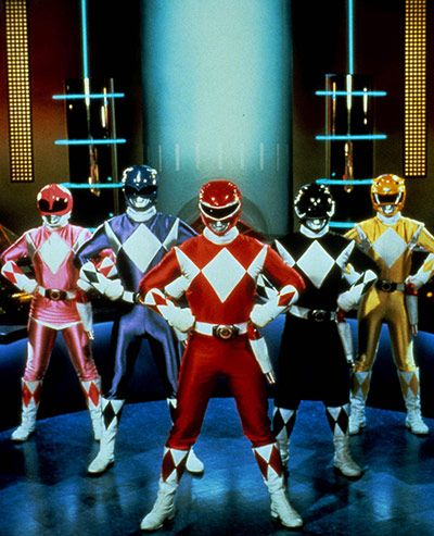 Mighty Morphin' Power Rangers - I know its not a cartoon but I still loved it growing up. The original and still the best!!