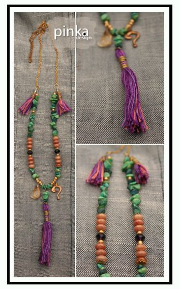 Pinka Design #boho #bohochic #mineral #handmade