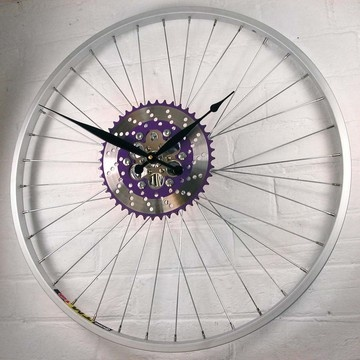 Andrew Fitzgerald, Bike Wheel Chainring Clock IV
