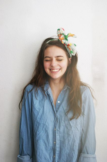 more chambray + a cute headband
