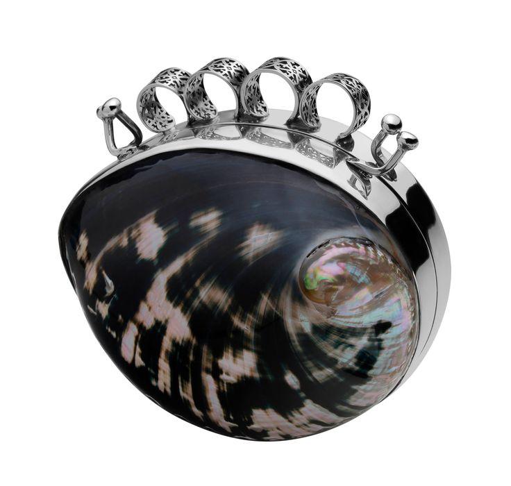 Bolsa Clutch La Noire Belle AUTARQUIA by Jordana Tello Art Jewelry Tendencias2014 BIOGÉNESIS