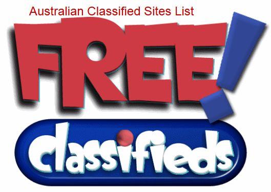 High PR Free Classified Ads Posting Sites List Australian