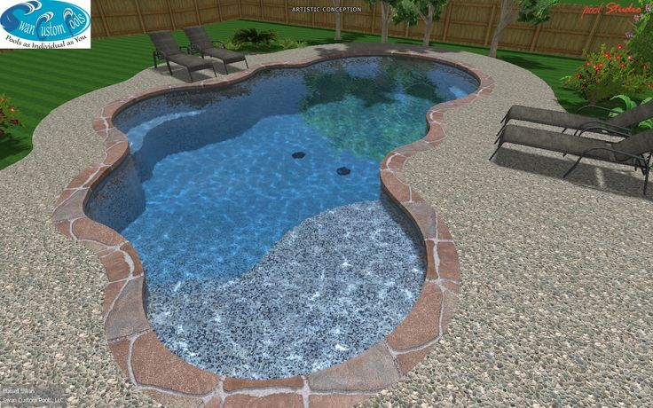 Pin by penny fowler on for the home pinterest for Pool design with tanning ledge