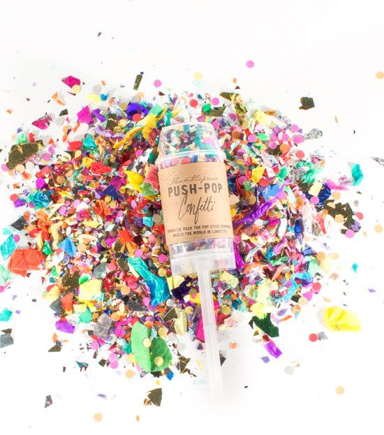 Push pop confetti for the ceremony! Only AUD $8.26 ea!