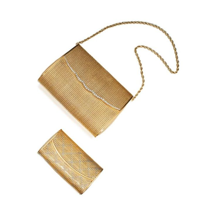 Buy online, view images and see past prices for GOLD AND DIAMOND PURSE, VAN CLEEF & ARPELS, AND TWO-COLOR GOLD CLUTCH. Invaluable is the world's largest marketplace for art, antiques, and collectibles.
