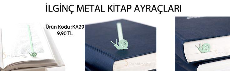 ilginç metal kitap ayraçları modelleri