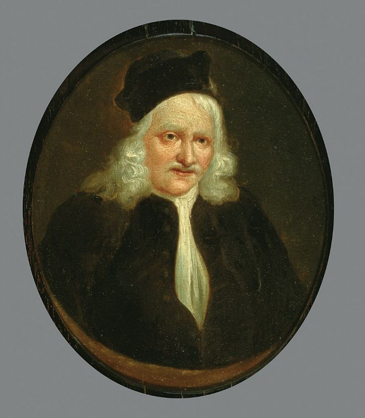 Quinkhard, Jan Maurits - Портрет Jacob van Hoorn, 1734, 19 cm x 15,5 cm, Холст, масло Музей Франса Халса в Харлеме