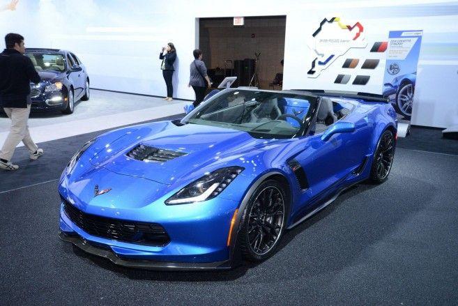 2016 Wonderful Blue Chevrolet Corvette Z06 C7.r Edition ...