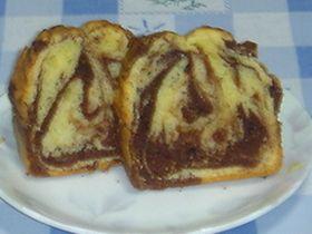 早い・簡単・美味しい☆マーブルケーキ