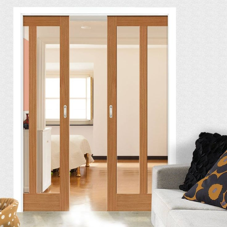 1000 ideas about double pocket door on pinterest glass for Sliding french pocket doors