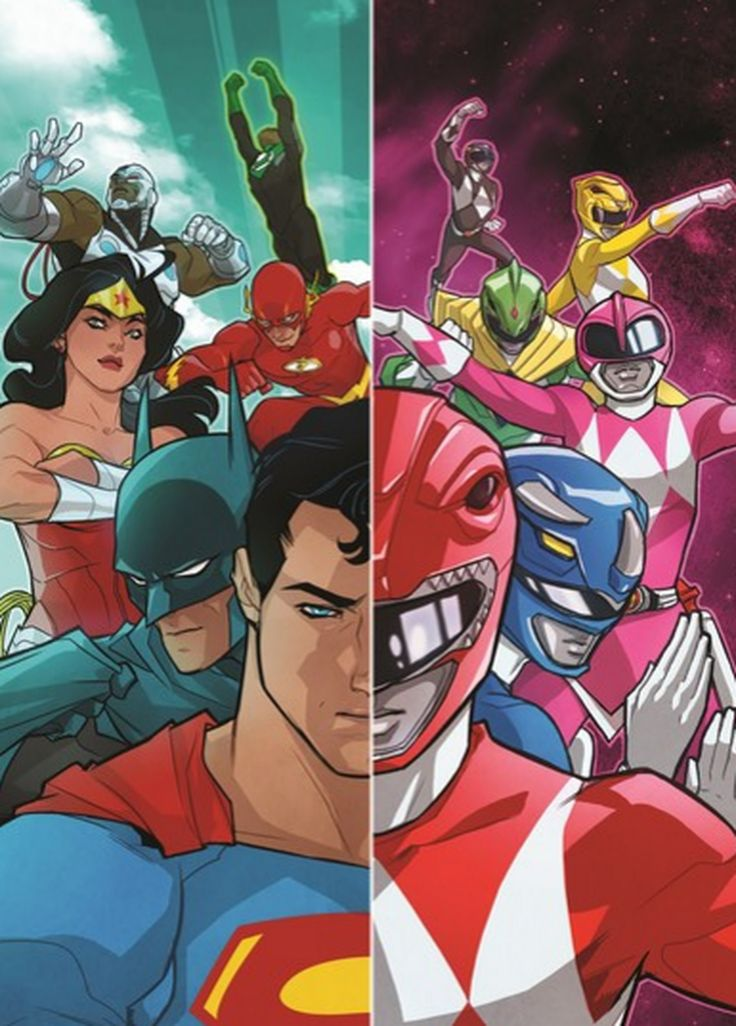 Power Rangers will crossover with the DC Universe for comic miniseries     - CNET #news #trends