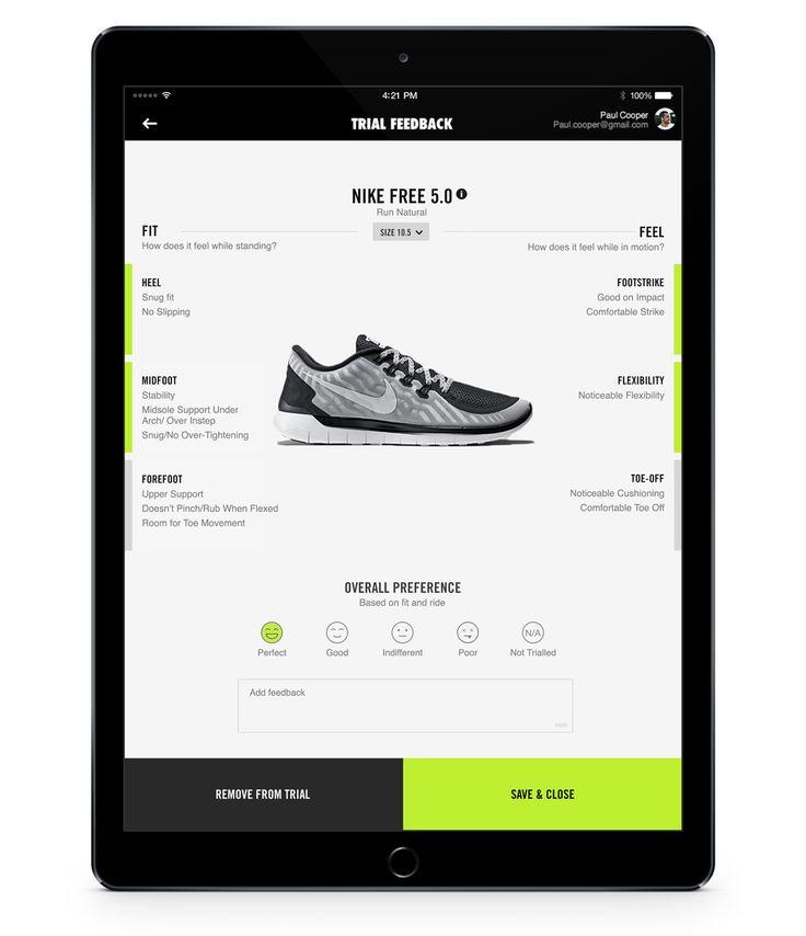 Nike Trial Run on Behance
