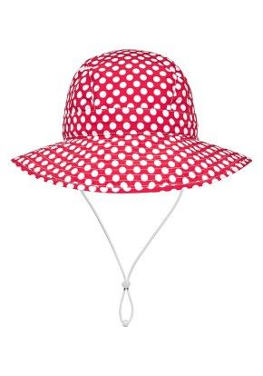 Babes in the Shade Red Spot Hat