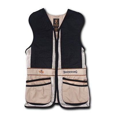 #Browning team shooting vest - #ambidextrous - beige/ #black - s, m, l (f),  View more on the LINK: 	http://www.zeppy.io/product/gb/2/152176806210/