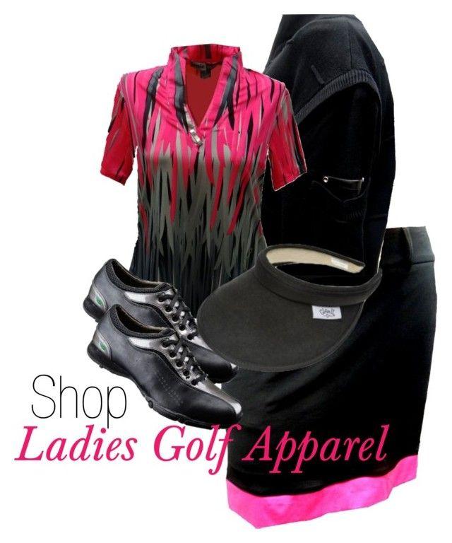 Ladies Golf Apparel Jamie and Birdee by theladiesproshop on Polyvore featuring Jamie Sadock