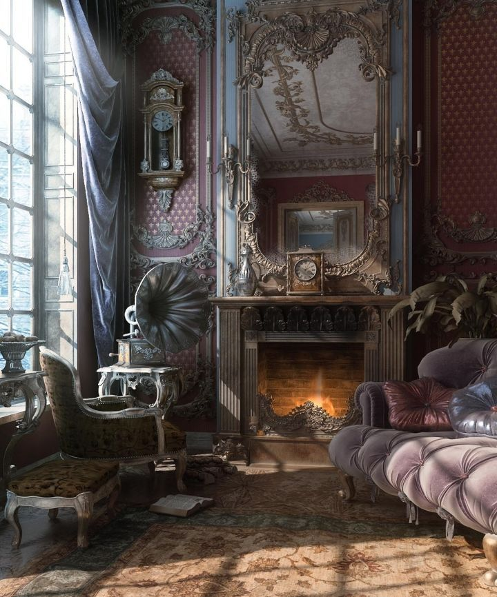 Mysterious Gothic Home Decor and Victorian Gothic