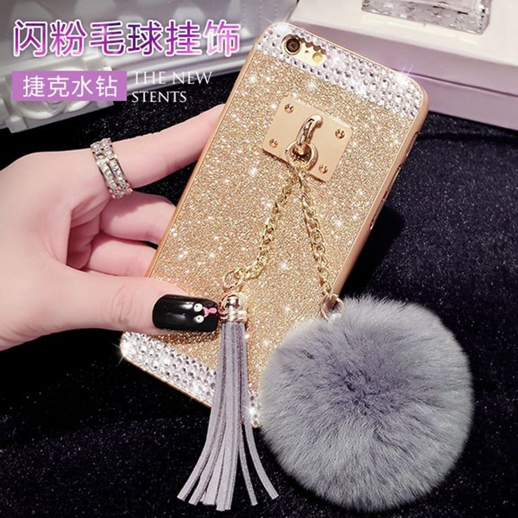 >> Click to Buy << For A5 2016 a510 Cute Diamond Glitter Sparkle metal buckle Fur ball pompom tassel bling cover case #Affiliate