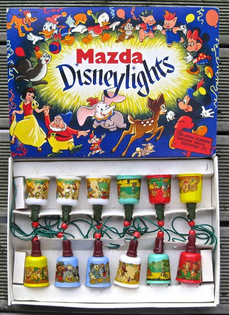 Mazda Disneylights character shaded string lights Disney - Christmas Pinterest Disney ...