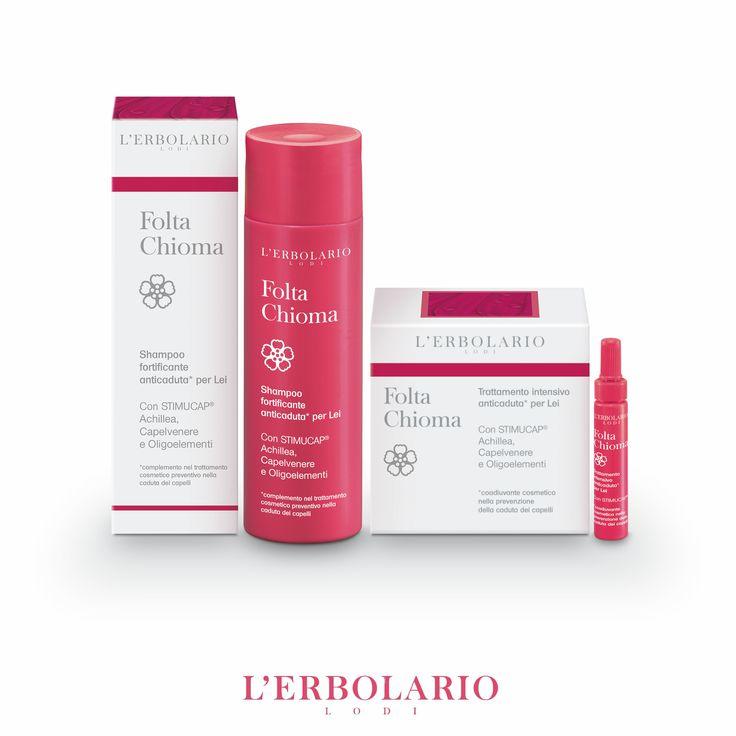 Folta Chioma Per Lei Effetto protettivo, tonificante, antiossidante per accrescere la resistenza dei capelli e prevenirne la temporanea caduta.