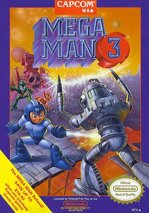 Play Mega Man 3 Game on Nintendo NES Online in your Browser. ➤ Enter and Start Playing NOW!