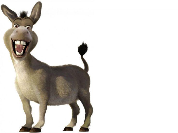 Image result for shrek donkey clipart