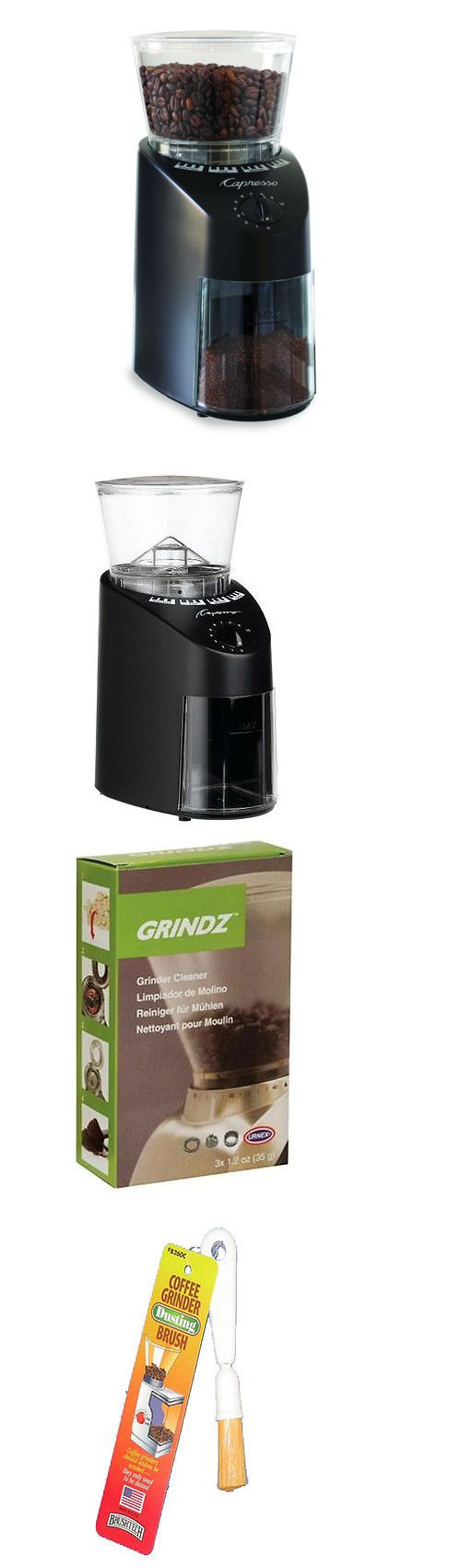 Coffee Grinders 32882: Capresso Jura Infinity 560 Conical Burr Coffee Grinder In Black + Accessory Kit -> BUY IT NOW ONLY: $104 on eBay!