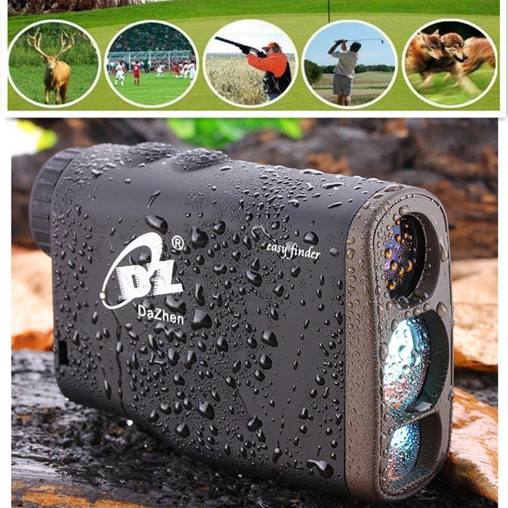 Sale 1000M Handheld Waterproof Golf Laser rangefinder Distance Meter Speed Range finders Monocularswith Flagpole Lock Function