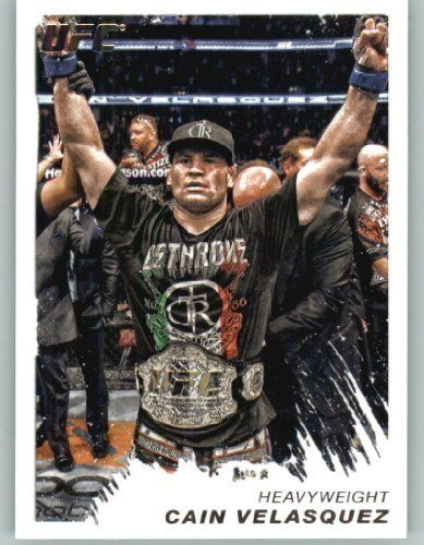 2011 Topps UFC Moment of Truth MMA Trading Card #116 Cain Velasquez (Ultimate Fighting Championship) Mixed Martial Arts by Topps. $2.11. 2011 Topps UFC Moment of Truth MMA Trading Card #116 Cain Velasquez (Ultimate Fighting Championship) Mixed Martial Arts