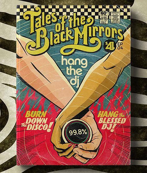 Black Mirror' Episodes Reimagined as Retro Comics   Black Mirror