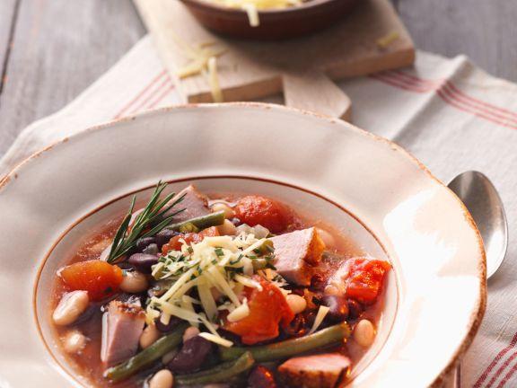 Bohneneintopf mit Ente ist ein Rezept mit frischen Zutaten aus der Kategorie Eintöpfe. Probieren Sie dieses und weitere Rezepte von EAT SMARTER!