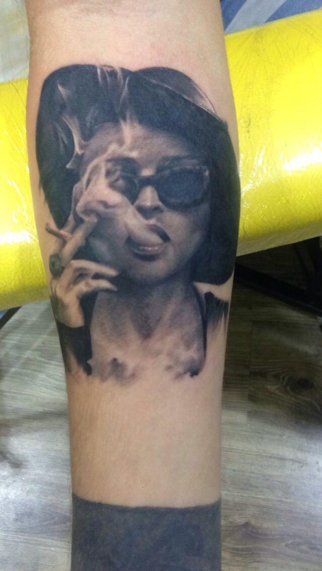 Marla Singer tattoo fight club