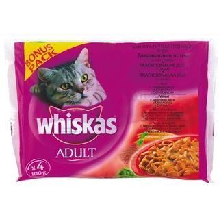 Whiskas Etli Seçenekler Yetişkin Kedi Konserve Maması