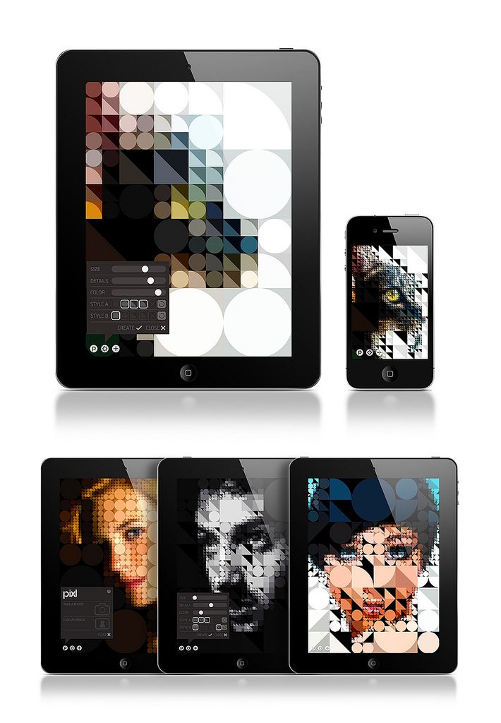:: PIXL by Jean-Christophe Naour — Interaction Design for iPhone & iPad ::