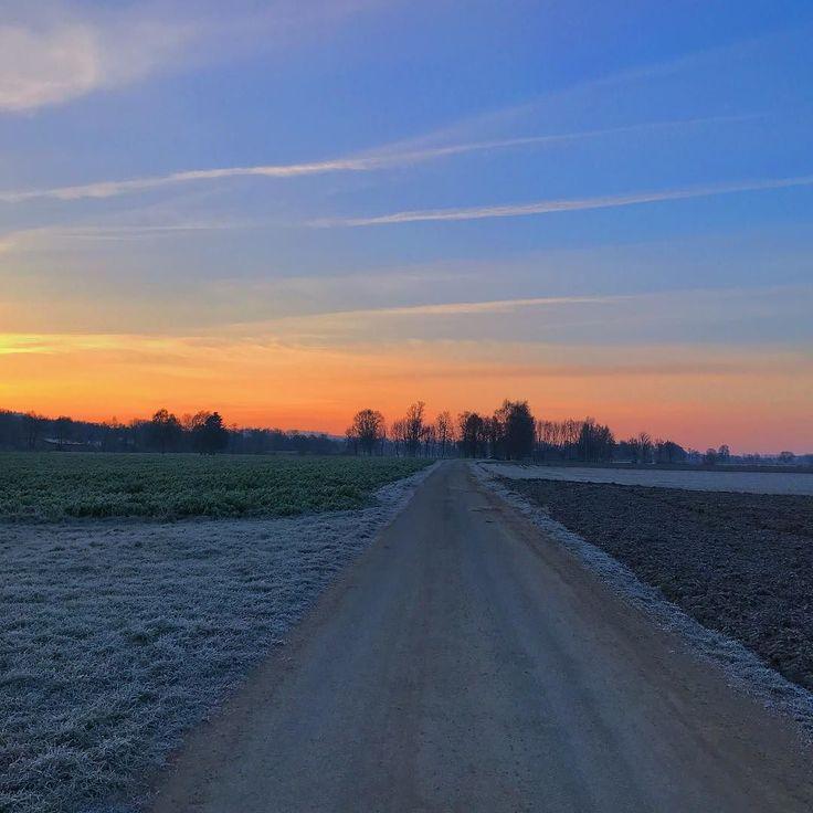 Guten Morgen an einem windig kaltem Freitag und meiner Frage des Tages: wann ist endlich wieder Sommer?    #nofilter #sunrise #fridayiaminlove #skyporn #morningwalk #4moresunrises #tgif #filterlos #sonnenaufgang #himmelbunt #morgenrunde
